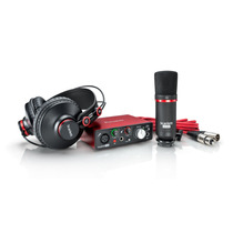 Focusrite Scarlett Solo Studio Pack Microfo Cable Auricular