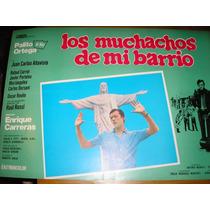 Original Poster Los Muchachos De Mi Barrio