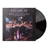 Coldplay Best Live Festival Galstonbury 2016 Disco Vinilo Lp
