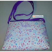 Carteras Violetta Y Princesas - Ideal Para Pasear Y Regalar!