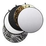 Pantalla Reflectora 5 En 1 110cm Circular Con Funda Rebote