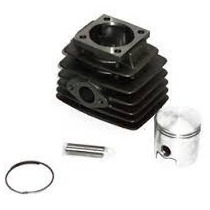 Kit De Cilindro Zanella Due/sol 90cc +kit Piston Completo