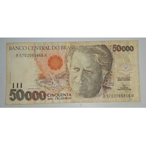 Brasil Billete De 50000 Cruzeiros *040