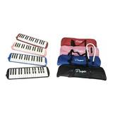 Flauta Melodica Con Funda 32 Teclas Parquer Colores!!