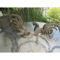 Esculturas Gallos De Bronce