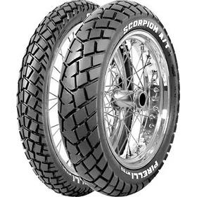 Cubierta 110 90 17 Pirelli Mt90 Scorpion  El Rutero Motos