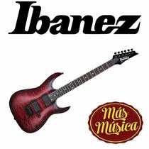Guitarra Electrica Gio Rg Transparent Red Ibanez Grga42qa-tr