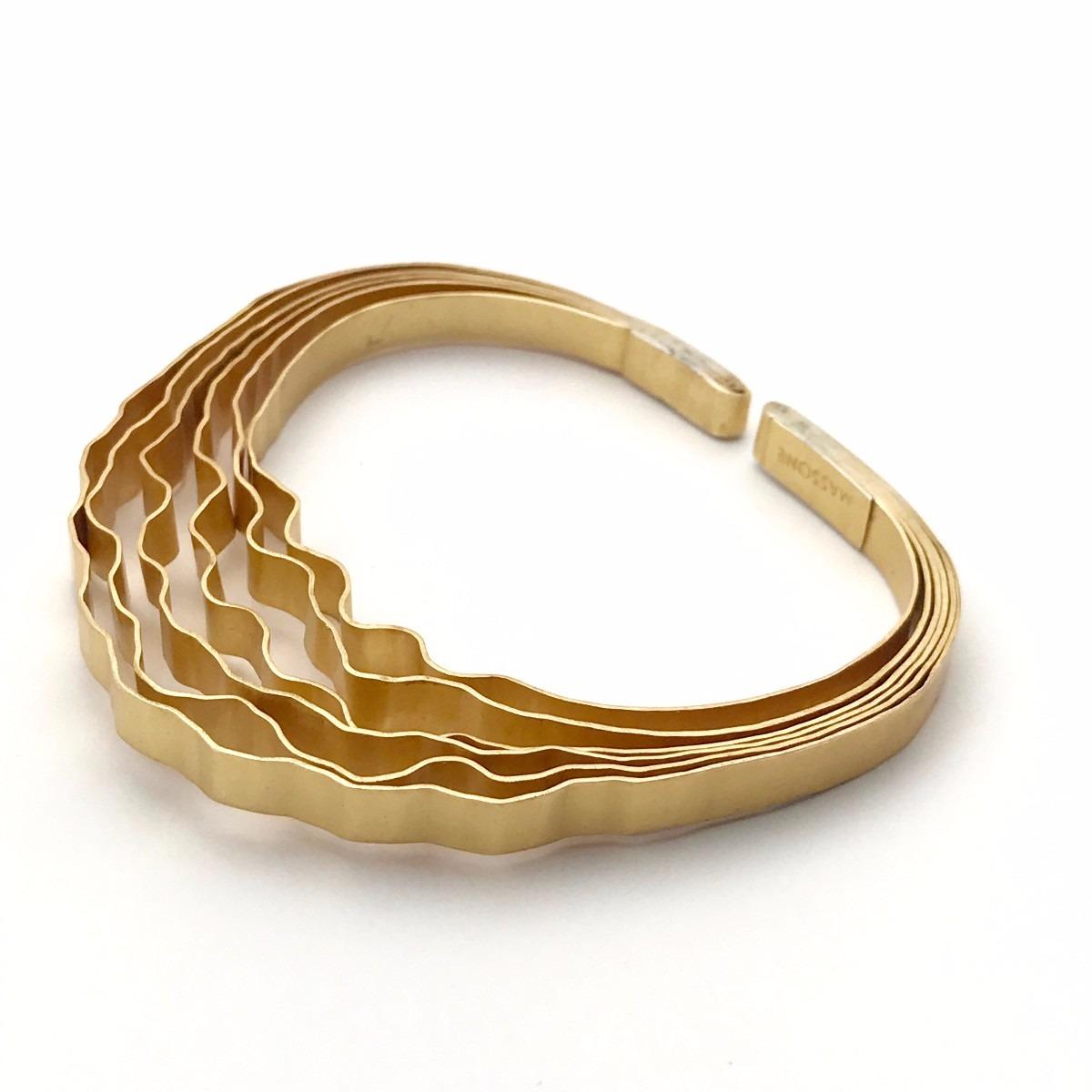 Bosque Pulsera Fina - Baño de Oro