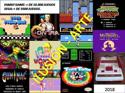 Family Game De10 000 Juegos Para Pc Sega De3500 X Mail 25