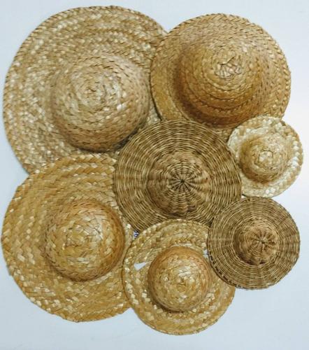 Sombrero De Paja Souvenir Muñecos 17 43f7a3ca619