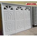 Porton Chapa Reforzado Inyectado Garage Abrir 247x205 Tc-001