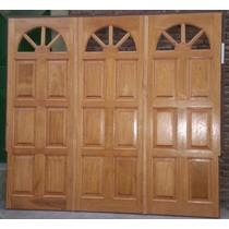 Portón Corredizo En Madera 2.40x2.00