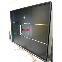 Porton Garage Chapa Abrir 3 Hojas Barral 240x200 Envios Tc07