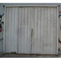 Antiguo Portón De Garage De 4 Hojas De Cedro
