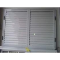 Postigo De Aluminio De Color Blanco De 150x110