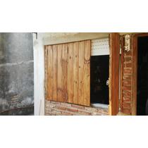 Postigos/postigones De Maderas Bariloche