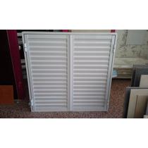 Postigon De Aluminio Blanco 120x110