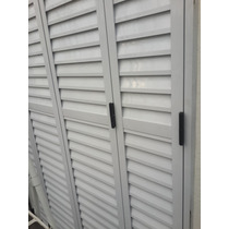 Postigon De Aluminio Blanco Con Colocacion Capital Federal