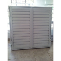Postigon De Aluminio Blanco 120x110 2 Hojas