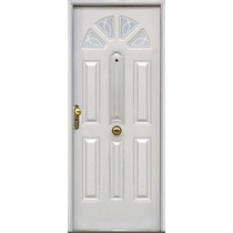 Puertas galvanizadas aberturas puertas exteriores chapa for Puertas galvanizadas