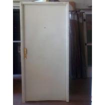 Puerta Doble Chapa Inyectada Lisa 90 X 200