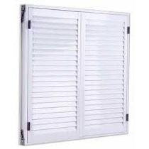 Postigon Aluminio Blanco Doble Hoja 150*110