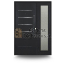 Residencial Chapa 56 Imperia 80x200 Grafito --3defebrero Srl
