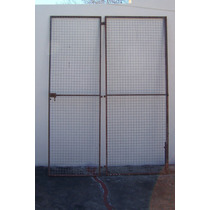 Puertas Reja Para Cerramiento Exterior