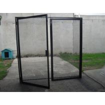 Puerta,porton De Hierro,metal Desplegado X M2