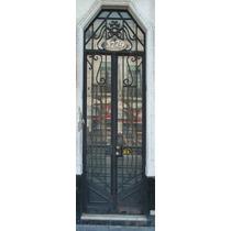 Puerta Antigua De Hierro De 2 Hojas. 3607