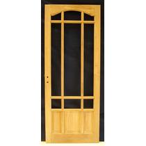 Puerta En Madera Cedro 0.70 / 0.80 X 2.00 - Fabrica -