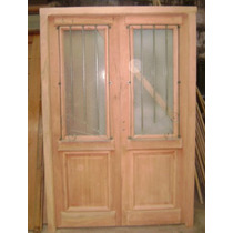 Puerta Antigua Cedro 140x206 Extra Porch