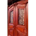 Puerta Antigua Art Nouveau Cedro Atelier Carpinteria