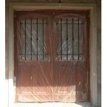 Puerta Antigua Oferta 160x200 C/reja Extra Porch