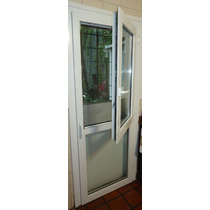 Puerta Pvc Blanco Con Hoja Oscilobatiente Superior 0.80x2.00
