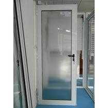 Puerta De Aluminio Blanco 80 X 200 Linea Eko Plus Rosario