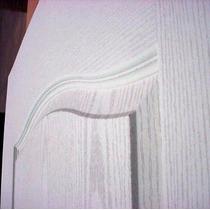 Puertas Placa Craftmaster Blanca Marco Madera 70x200x10 Cm
