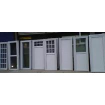 Puerta Aluminio Blanco Ciega 60x200 C/cerradura