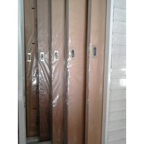 Puerta Corrediza De Embutir Enchapada En Cedro 0.90x2.00