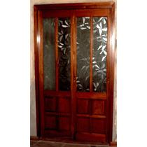 Puerta Rebatible De Madera Maciza De 0.80 Mts X 2.00 Mts
