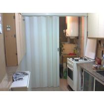 Puertas Plegadizas Reforzadas De 10cm De Pvc De 0,85 X 2