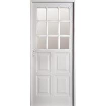 Aberturas: Puerta Nexo 1/2 Vidrio Doble Chapa L. Intermedia