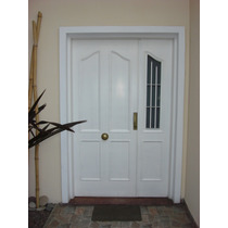 Puerta/portada/puerta Y Media/ Residencial Chapa Inyectada