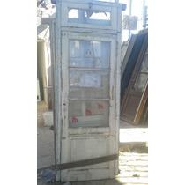 Puertas Antiguas,1 Hoja,banderola 2,33 Mts X 0,84 Ctm Guerni