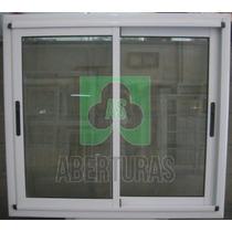 Ventana Aluminio Modena 120x110 Vidrio 4mm ¡oferta!