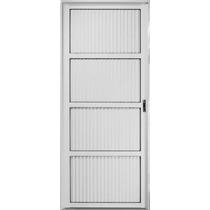 Puerta De Aluminio Blanco Ciega De 080x200