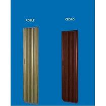 Puerta Plegadiza Pvc Reforzado 10mm Ciega Color 0,75 X 2