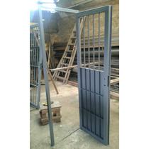 Puerta Reja Reforzada Cerraduramarco Chapa Todas Las Medidas