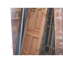 Puerta Tablero Antigua De Cedro Restaurada