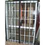 Puerta Reja Abrir 200x200 Cuadrado De 1/2, Cerradura Y Llave